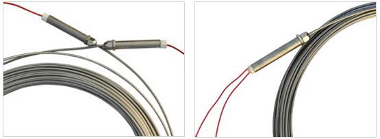 MI加热电缆两端细节图