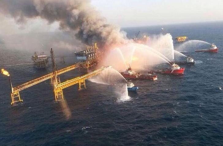 海上石油平台