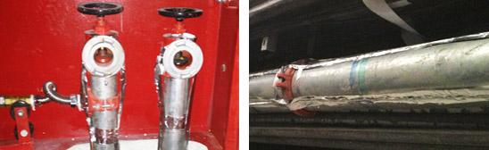 ZR消防管道自限温伴热带安装图