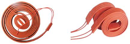 RDC-G型硅橡胶电加热带实物图