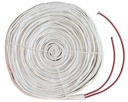 玻璃纤维电加热带实物图