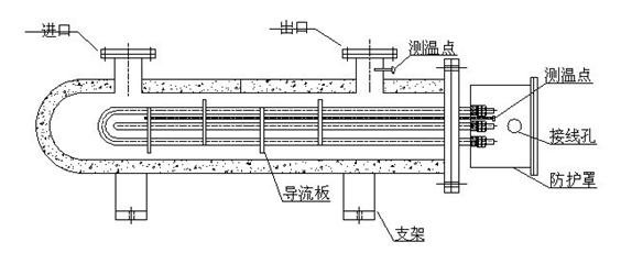 管道电加热器原理图