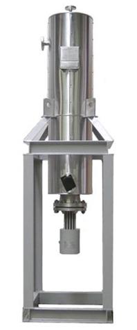 防爆立式流体电加热器产品图