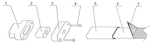 伴热采样复合管中电伴热带安装图(二)